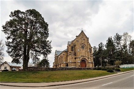 Catholic church of the Ascension of the Holy Cross (3 category)